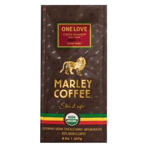 Marley Coffee Orgánico Molido ONE LOVE 227Gr