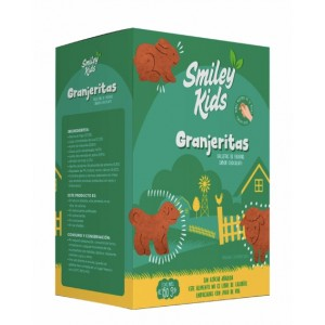 SmileyKids Galletas Granjeritas Chocolate