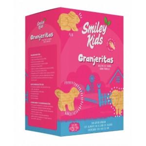 SmileyKids Galletas Granjeritas Frutilla