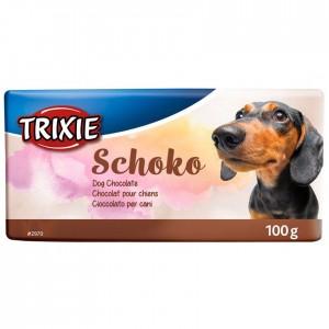 Chocolate para perros Schoko Trixie 100Gr
