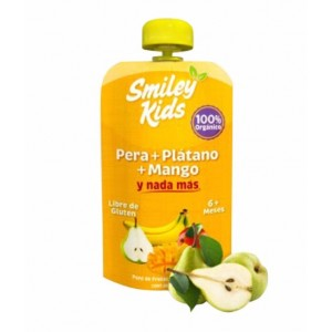 SmileyKids Pera Plátano Mango