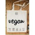 """Bolsa Algodón """"Vegan"""" VeggieBag"""