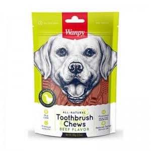 Wanpy Beef Toothbrush Chews